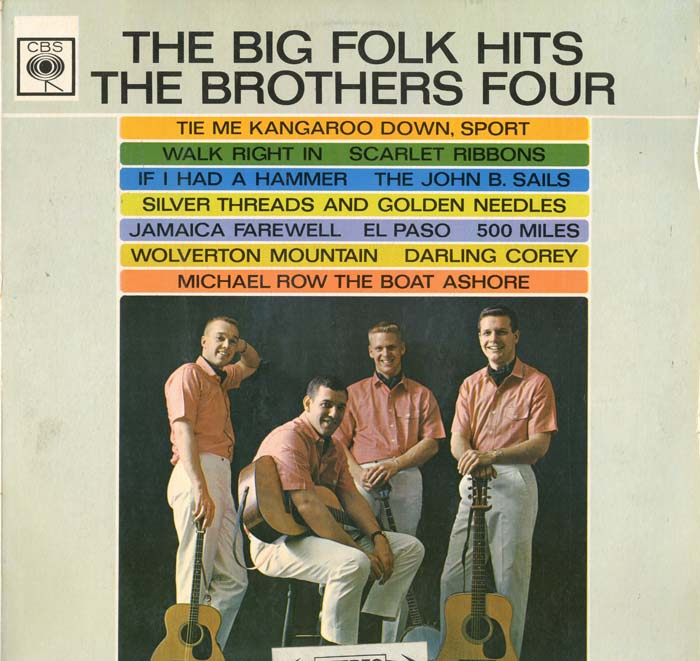 Albumcover The Brothers Four - The Big Folk Hits