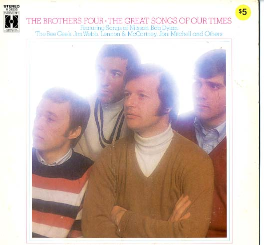 Albumcover The Brothers Four - The Great Songs Of Our Time
