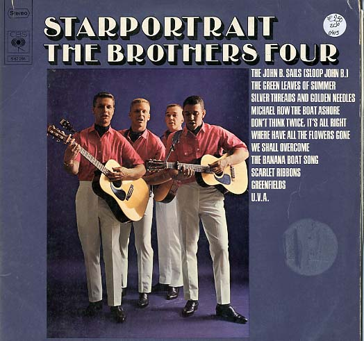 Albumcover The Brothers Four - Starportrait (DLP)
