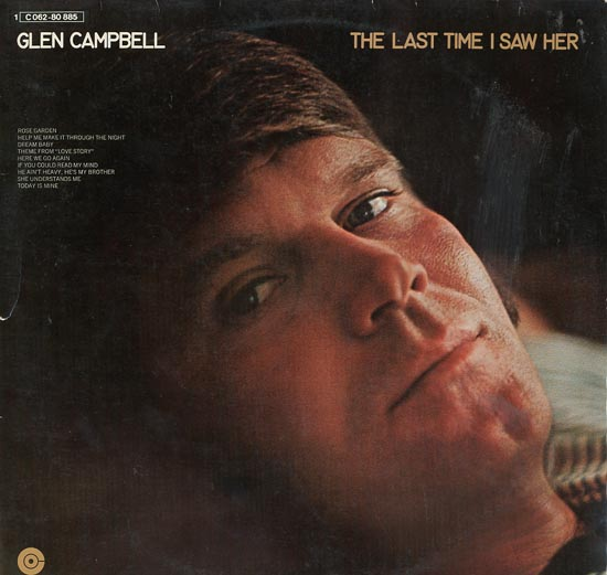 Albumcover Glen Campbell - The Last Time I Saw Her