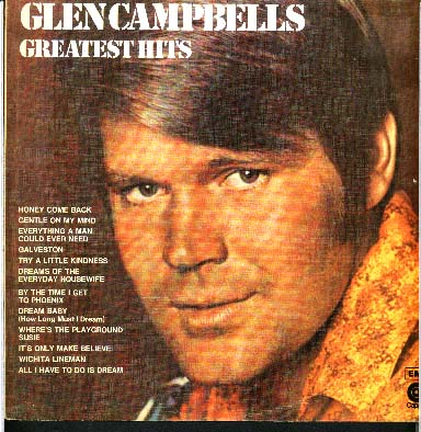 Albumcover Glen Campbell - Glen Campbells Greatest Hits