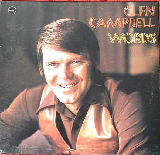 Albumcover Glen Campbell - Words