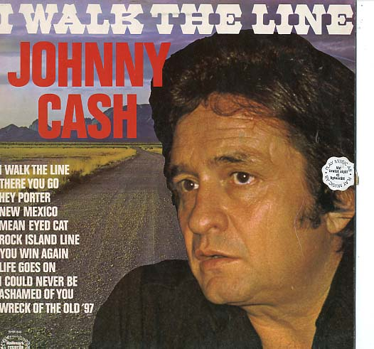 Albumcover Johnny Cash - I Walk The Line