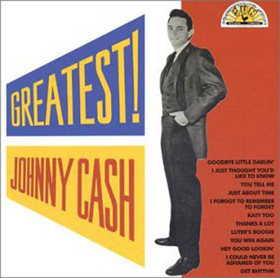 Albumcover Johnny Cash - Greatest