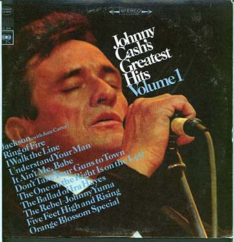 Albumcover Johnny Cash - Johnny Cashs Greatest Hits Vol. 1