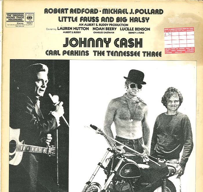 Albumcover Johnny Cash - Little Fauss And Big Halsy (Soundtrack)