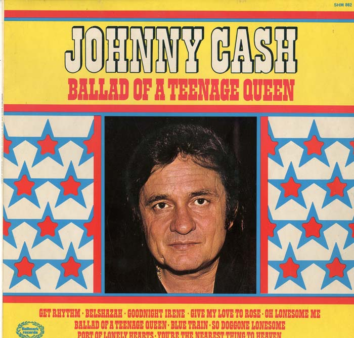 Albumcover Johnny Cash - Ballad Of A Teenage Queen