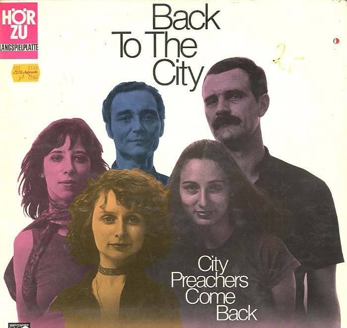 Albumcover Die City Preachers - Back To The City