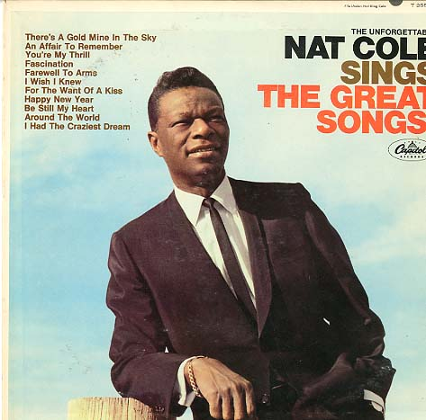 Albumcover Nat King Cole - Sings The Great Songs