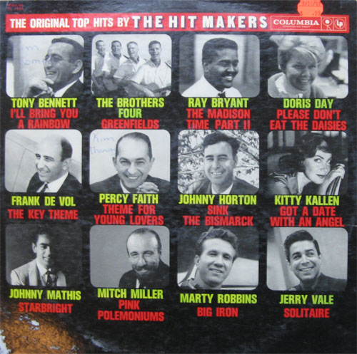 Albumcover Electrola-/Columbia- Sampler - The Hit Makers - The Original Hits