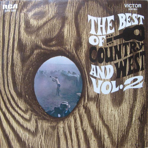 Albumcover Various Country-Artists - The Best of Country and West Vol. 2