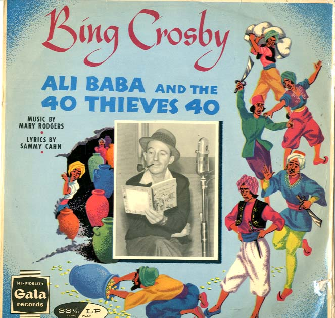 Albumcover Bing Crosby - Ali Baba And The 40 Thieves