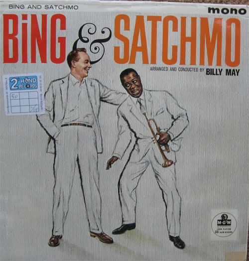 Albumcover Louis Armstrong and Bing Crosby - Bing & Satchmo