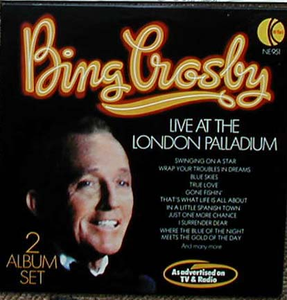 Albumcover Bing Crosby - Live at the London Palladium (DLP)