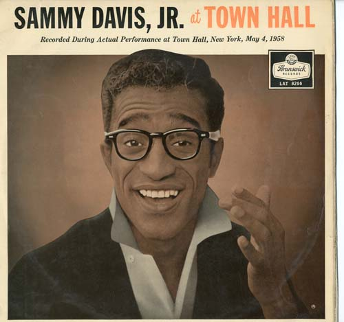 Albumcover Sammy Davis Jr. - At <b>Town Hall</b> - davis_sammy_jr_townhall_brunswick