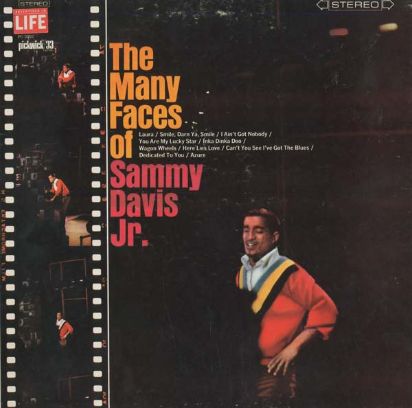Albumcover Sammy Davis Jr. - The Many Faces of Sammay Davis Jr.