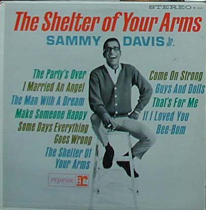 Albumcover Sammy Davis Jr. - The Shelter Of Your Arms
