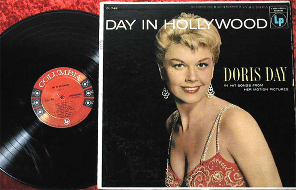 Albumcover Doris Day - Day in Hollywood
