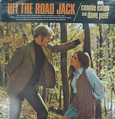 Albumcover Connie Eaton - Hit The Road Jack (mit Dave Peel)