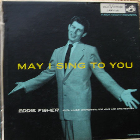 Albumcover Eddie Fisher - May I Sing To You