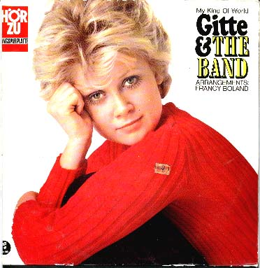 Albumcover Gitte - Gitte And The Band - My Kind of World - Arrangements Francy Boland