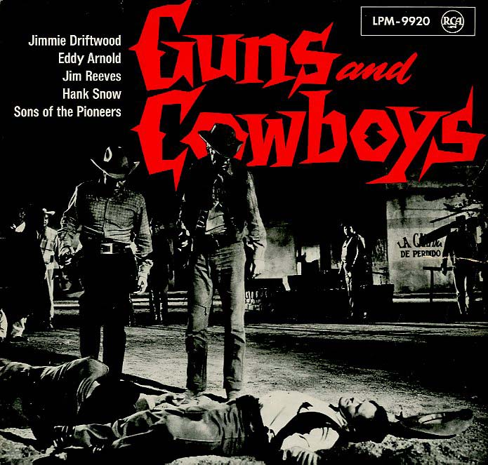Albumcover Various Country-Artists - Guns and Cowboys