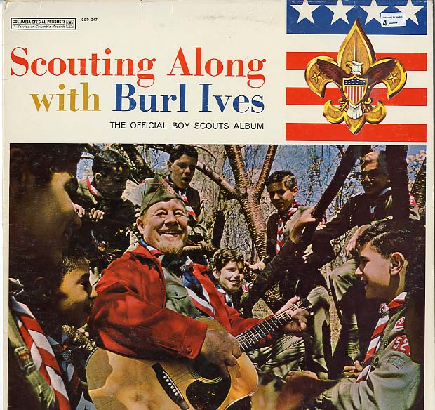 Albumcover Burl Ives - Scouting Along with Burl Ives