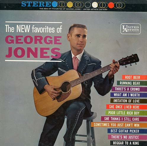 Albumcover George Jones - The New Favorites of George Jones