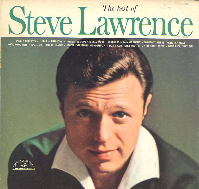 Albumcover Steve Lawrence - The Best Of Steve Lawrence