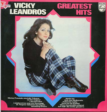 Albumcover Vicky Leandros - Greatest Hits (deutsch,engl. + franz.)