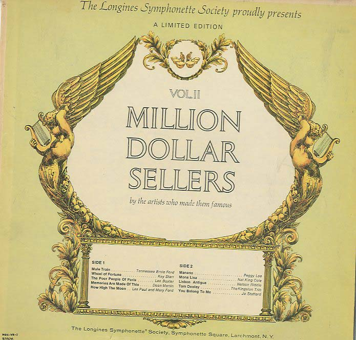 Albumcover Various Artists - Million Dollar Sellers Vol.II