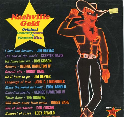 Albumcover Various Country-Artists - Nashville Gold Original Country Stars & Western Hits