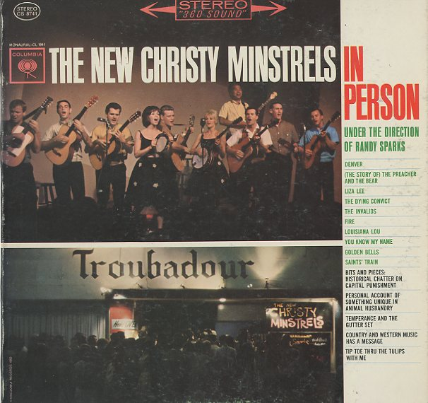 Albumcover New Christy Minstrels - In Person