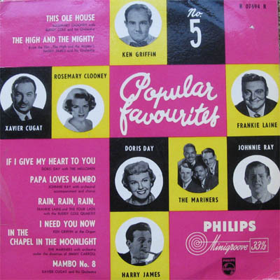 Albumcover Philips Sampler - Popular Favourites No. 5 (25 cm)
