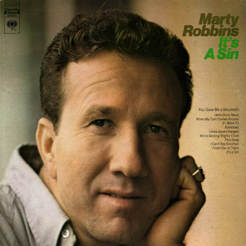 Albumcover Marty Robbins - It´s A Sin