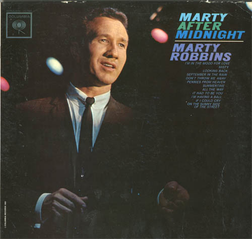 Albumcover Marty Robbins - Marty After Midnight