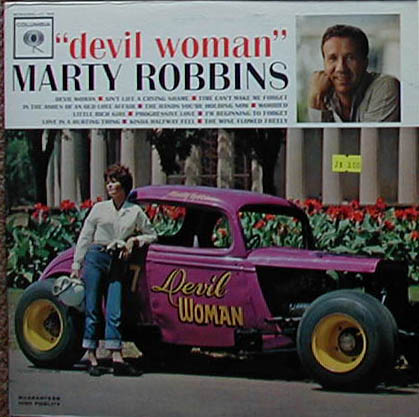 Albumcover Marty Robbins - Devil Woman
