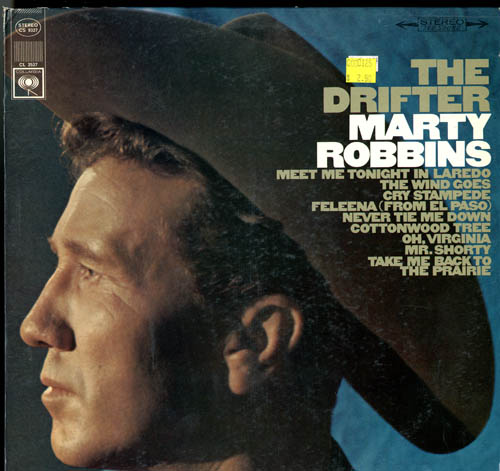 Albumcover Marty Robbins - The Drifter