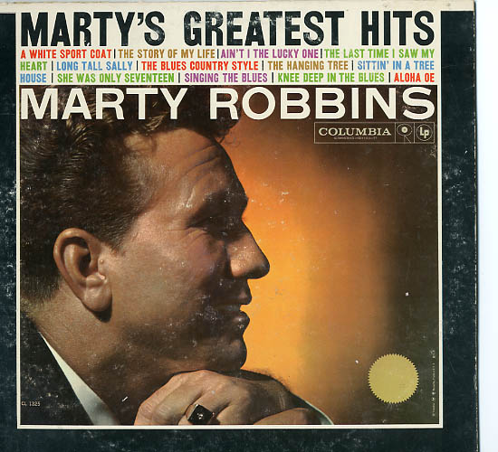 Albumcover Marty Robbins - Marty´s Greatest Hits (Orig.)