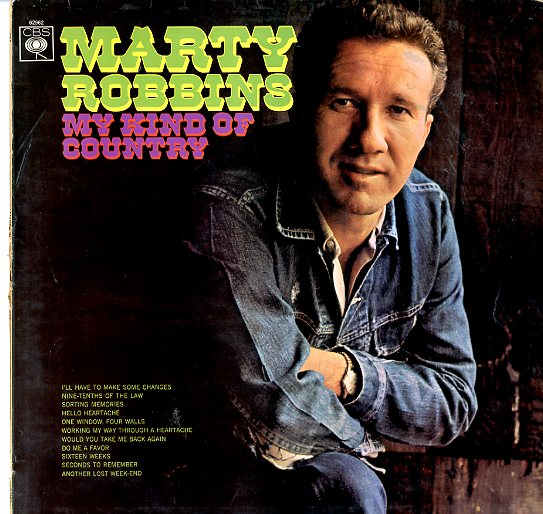 Albumcover Marty Robbins - My Kind Of Country