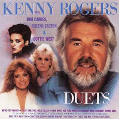 Albumcover Kenny Rogers - Duets with Sheena Easton, Kim Carnes, Dottie West