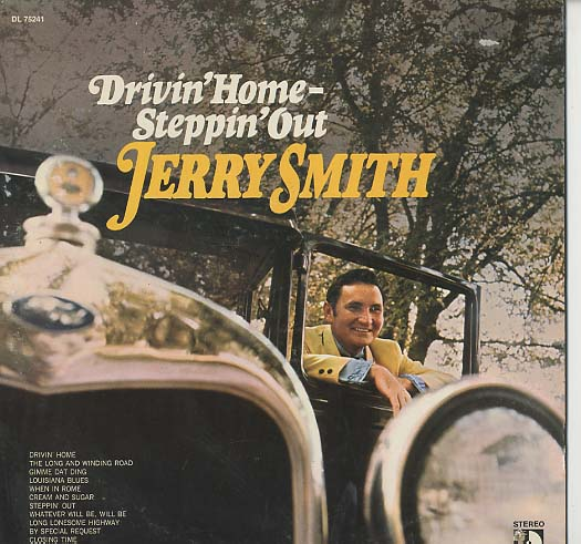 Albumcover Jerry Smith - Drivin Home - Steppin Out