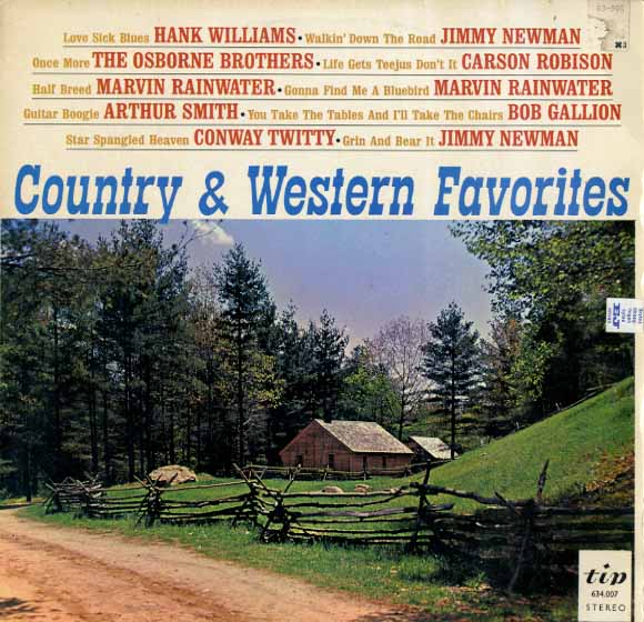 Albumcover Various Country-Artists - Country & Western Favorites