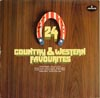 Cover: Various Country-Artists - Various Country-Artists / 24 Country & Western Favourites (DLP) (Gimmick Cover)