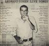 Cover: Leonard Cohen - Leonard Cohen / Live songs