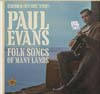 Cover: Evans, Paul - Folk Songs of Many Lands