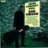 Cover: Don Gibson - Don Gibson / More Country Soul