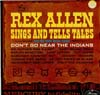 Cover: Allen, Rex - Sings and Tells Tales (of the Golden West)