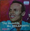 Cover: Harry Belafonte - The Versatile Mr. Belafonte (25 cm)