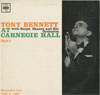 Cover: Tony Bennett - Tony Bennett / At Carnegie Hall Part 1